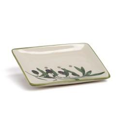 Saippua-alusta oliivi