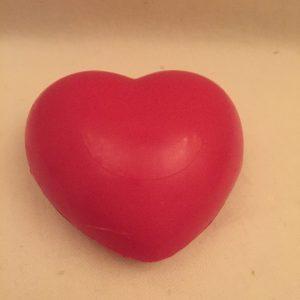 Sydänsaippua punainen